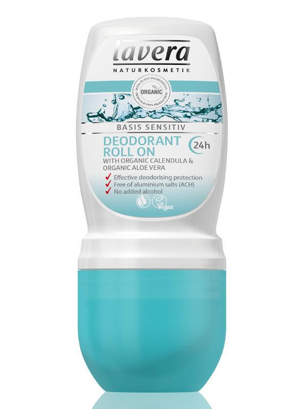 Lavera Kuličkový deodorant Basis Sensitiv 50 ml