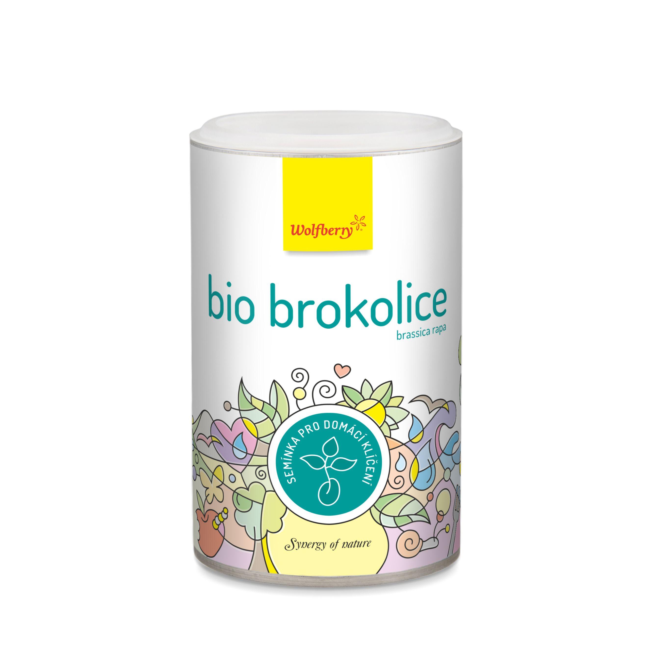 Wolfberry Brokolice BIO semínka na klíčení 200 g Wolfberry* 200 g