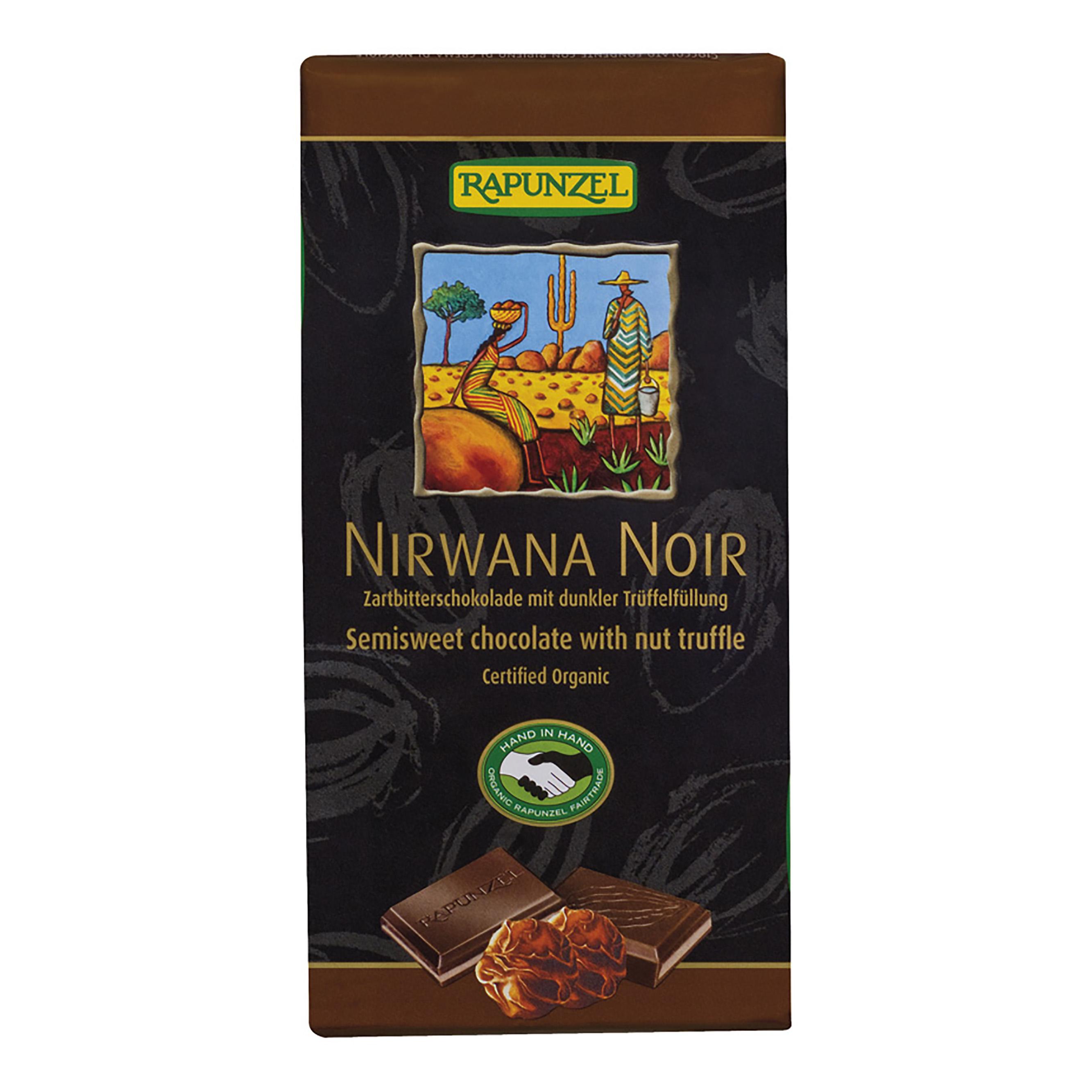 Rapunzel Čokoláda Nirwana hořká BIO 100 g Rapunzel* 100g