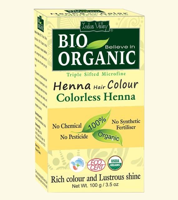 Henna barva na vlasy Bezbarvá
