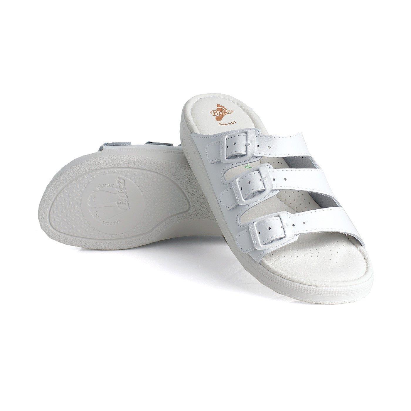 Batz* *Batz dámské zdravotní pantofle 3BCS White 38 38