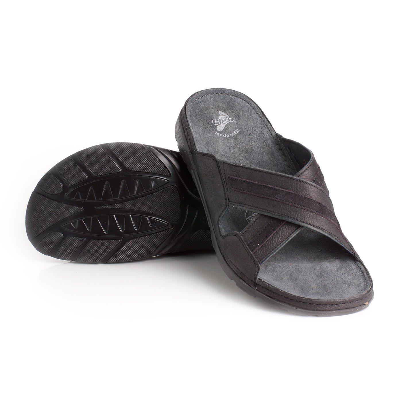Batz pánské zdravotní pantofle Alex Black 43