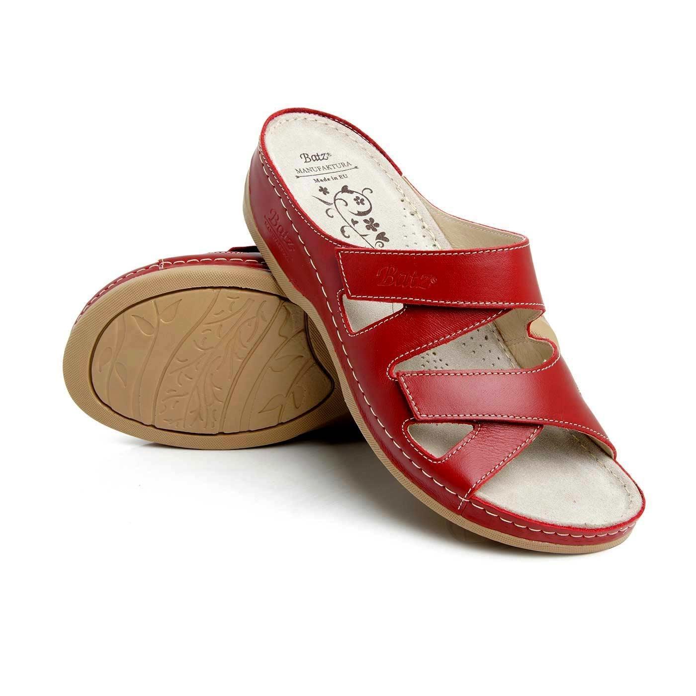 *Batz dámské zdravotní pantofle Eni Red 39