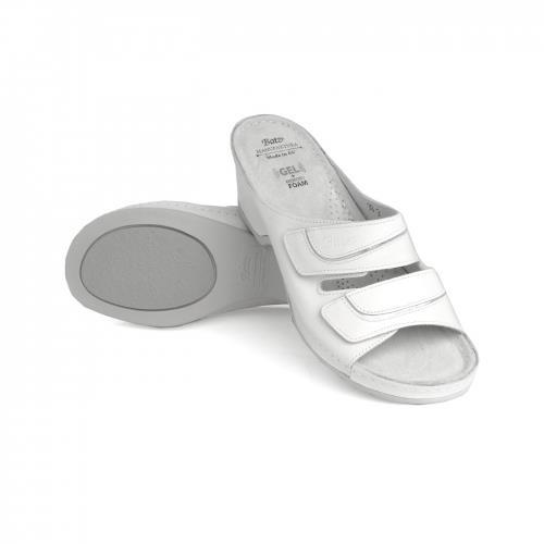 Batz Batz dámské zdravotní pantofle Eszter White 39 39