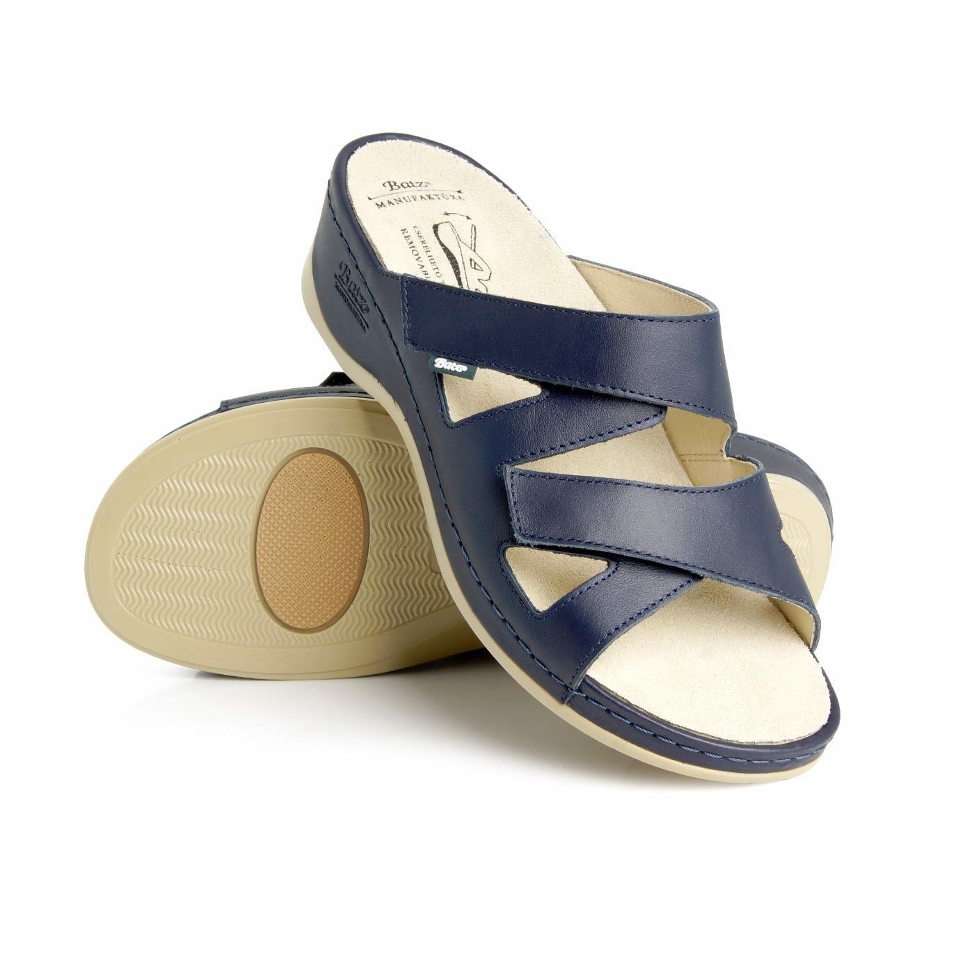 0fd8bc65e57 Batz dámské zdravotní pantofle Evelin Blue 37 - BIO a přírodní ...