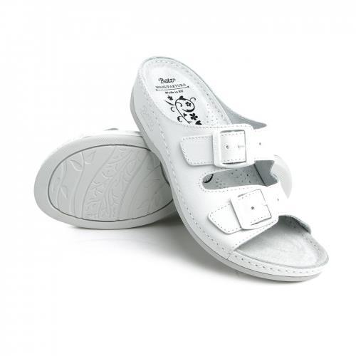 Batz dámské zdravotní pantofle FC02 White 37
