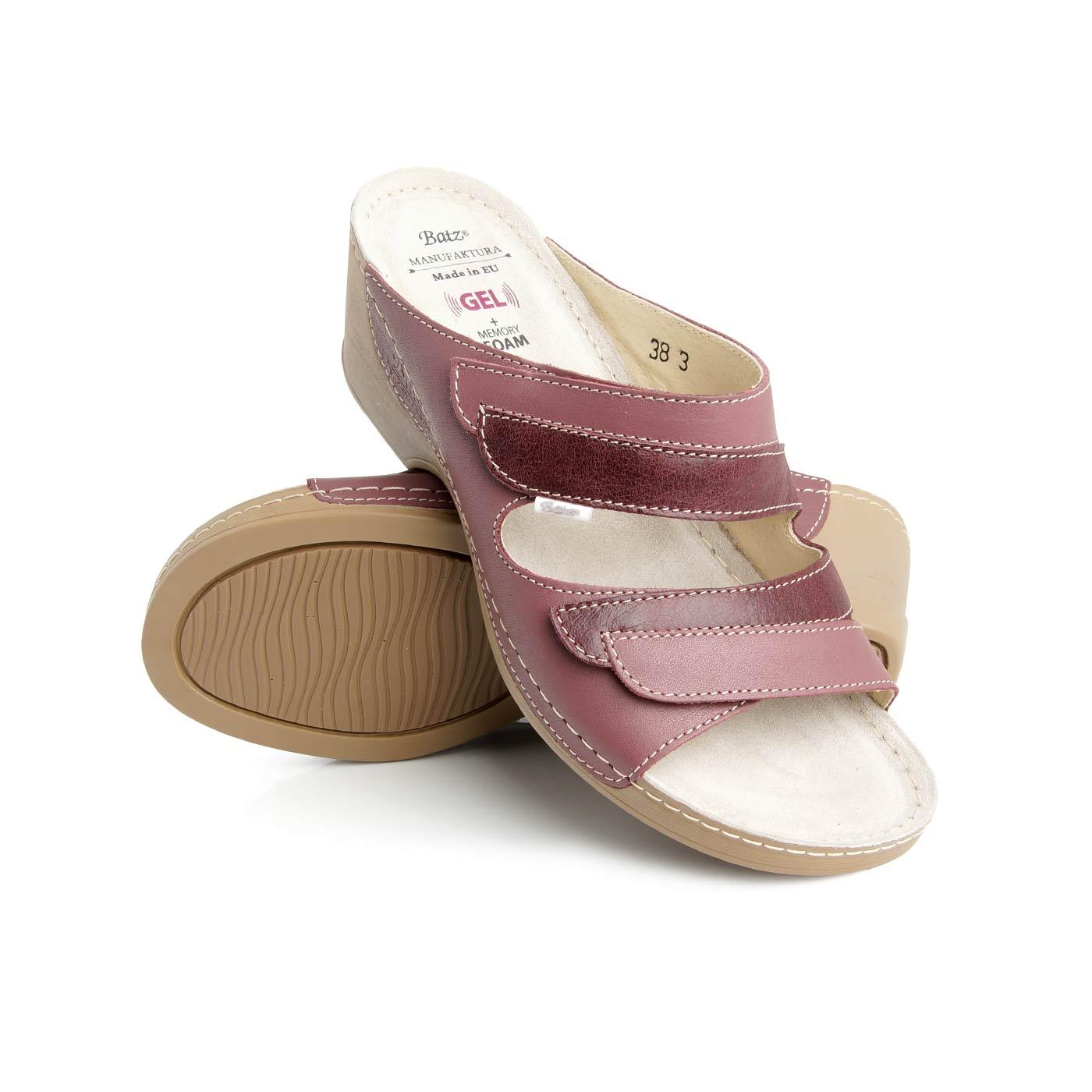 521ea98f498 Batz dámské zdravotní pantofle Mariann Raspberry 41 - BIO a přírodní ...