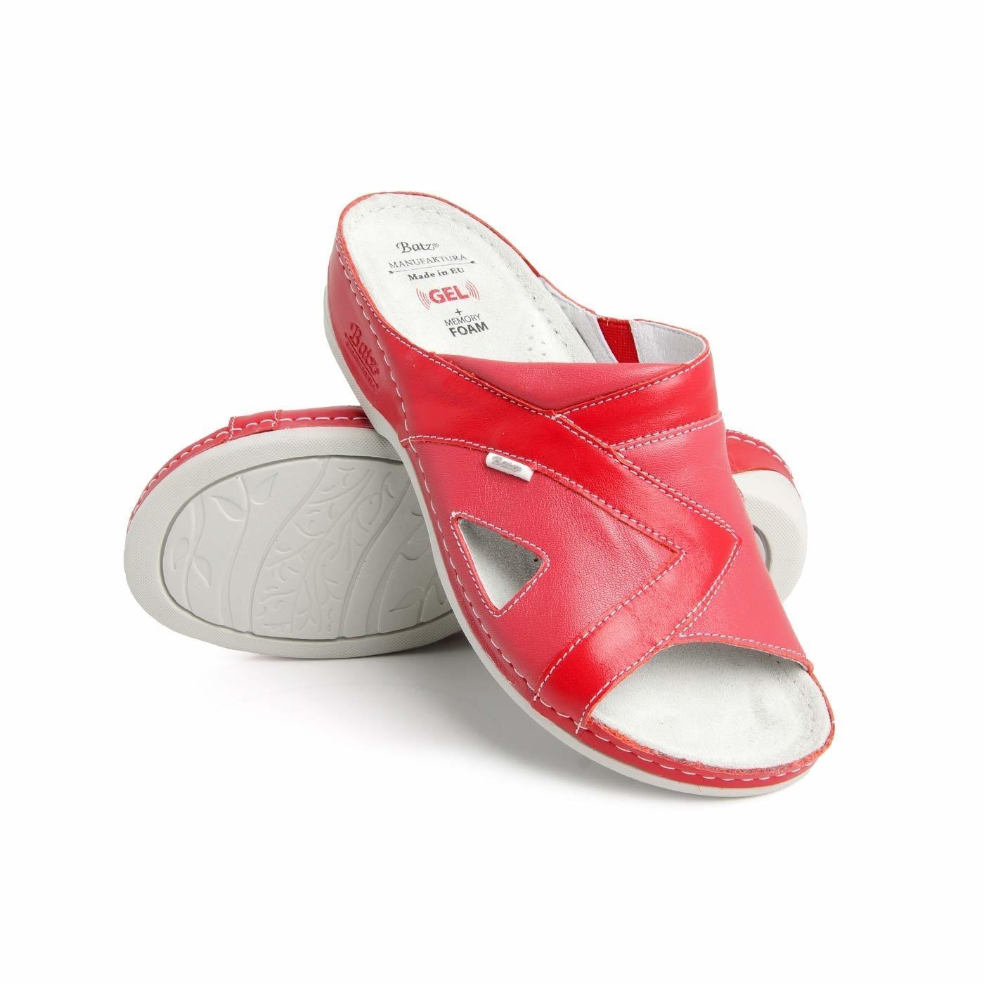 *Batz dámské zdravotní pantofle Viki Red 38