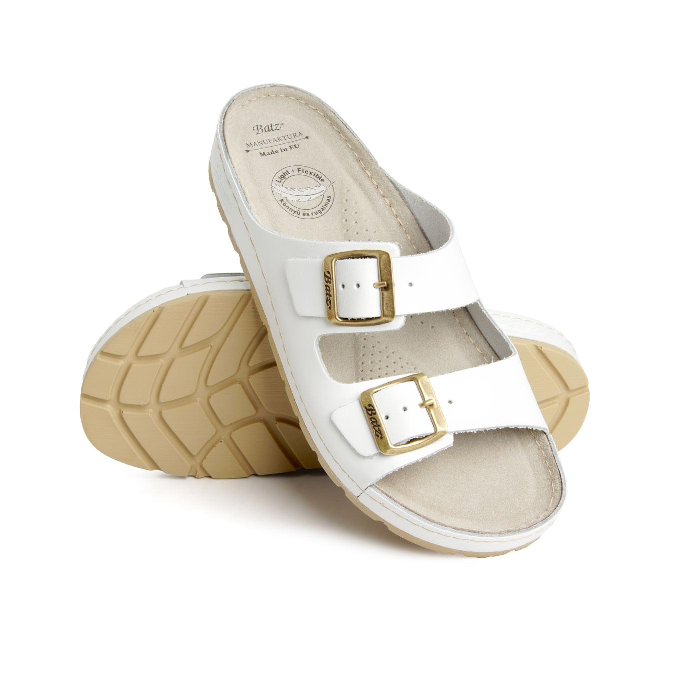 Batz dámské zdravotní pantofle Zenna White 38
