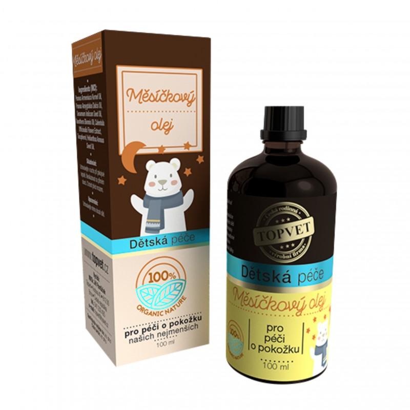 TOPVET Dětská péče - Měsíčkový olej 100 ml Topvet 100 ml