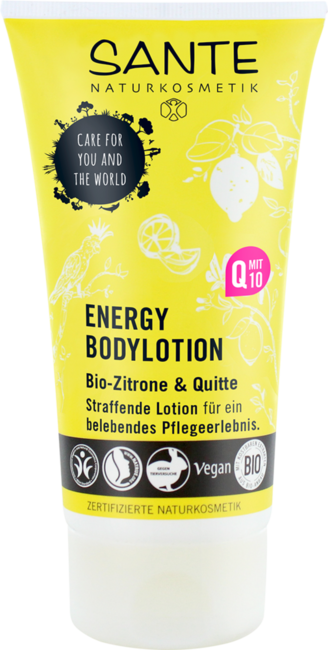 Levně Sante ENERGY tělové mléko BIO citron a dula 150 ml