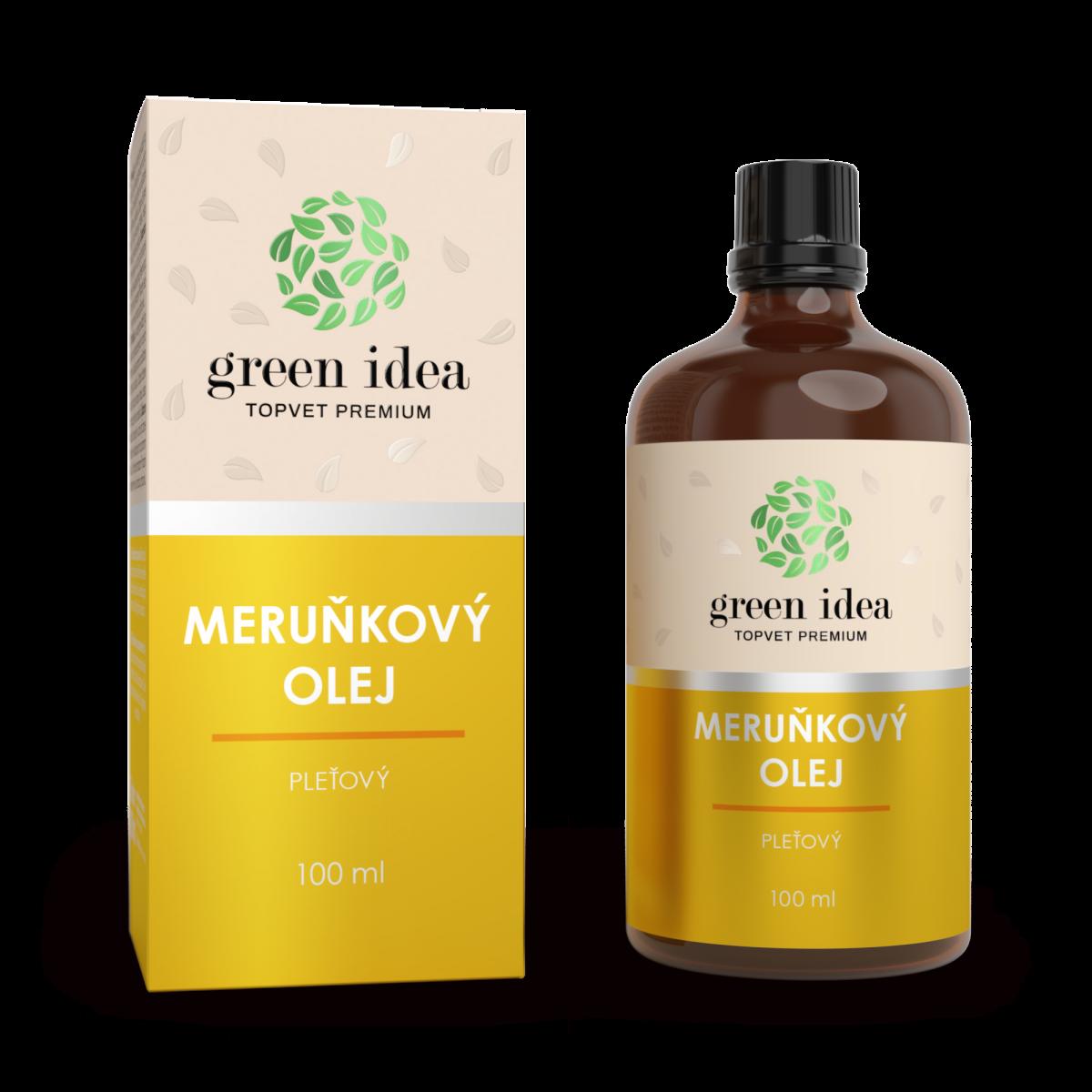 TOPVET Meruňkový olej 100% 100 ml 100 ml