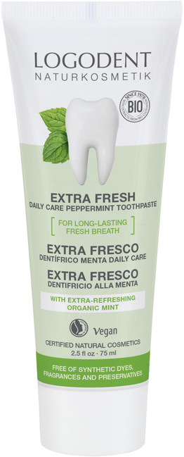 EXTRA FRESH daily care zubní pasta máta bez fluoridu