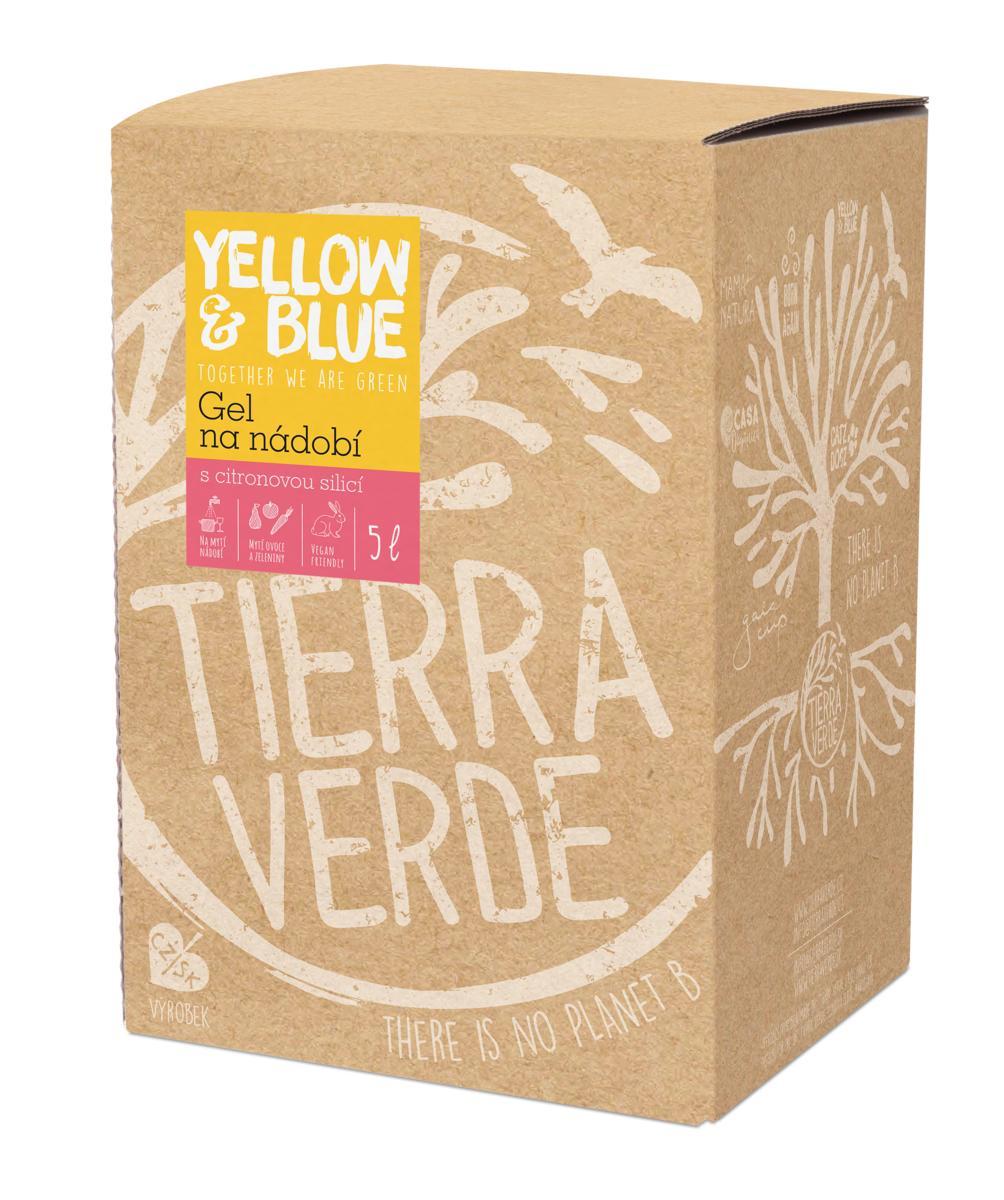 Yellow & Blue Gel na nádobí 5l (bag in box) 5 l