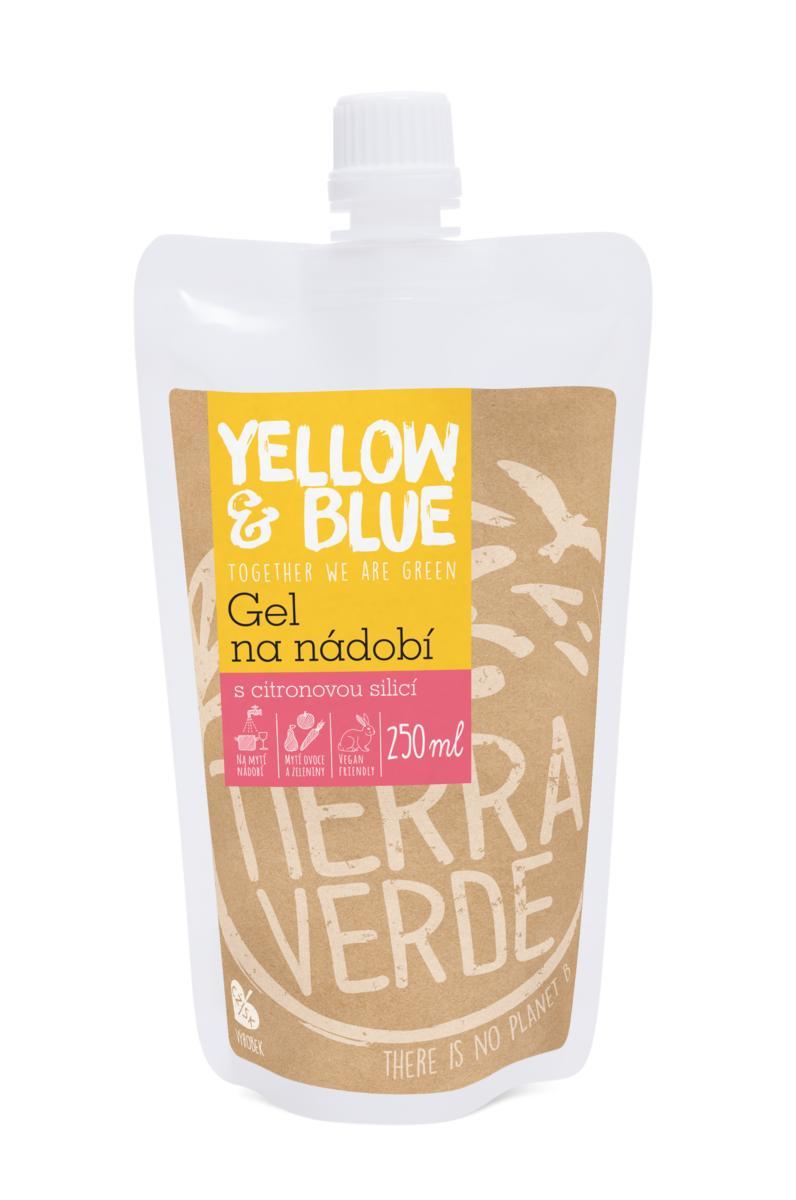 Yellow & Blue Gel na nádobí 250 ml (kapsa uzávěr) 250 ml