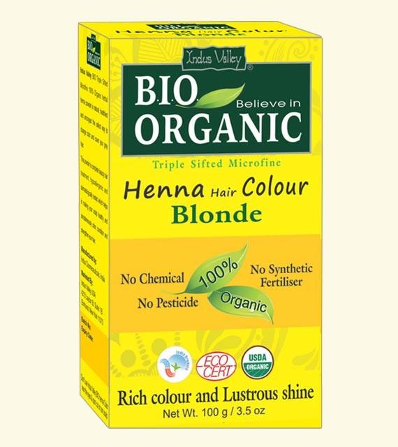Indus Valley Henna barva na vlasy Blond 100 g