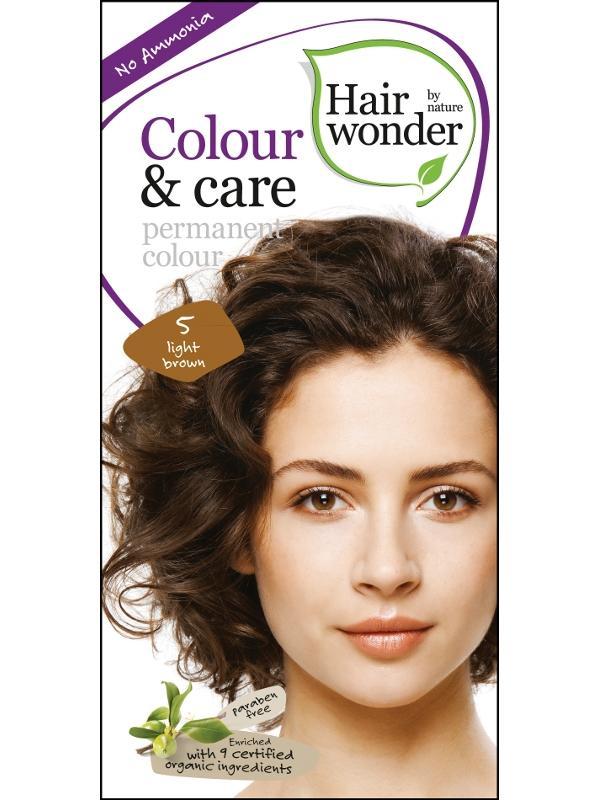 Hairwonder Dlouhotrvající barva SVĚTLÁ HNĚDÁ 5 100 ml 100 ml