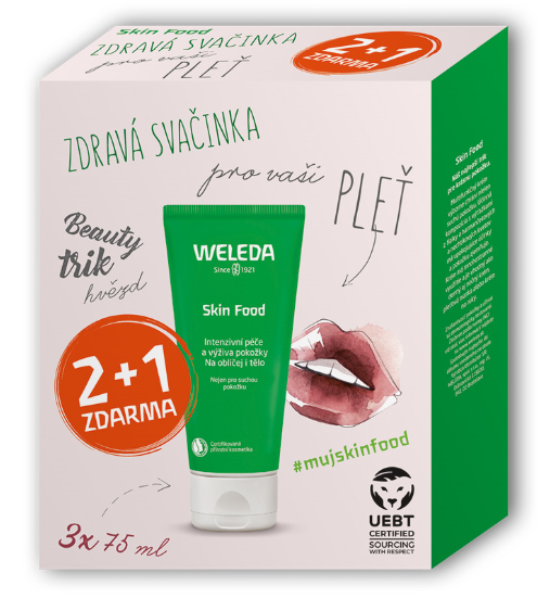 Weleda Skin Food Multipack 2 + 1 3 x 75 ml