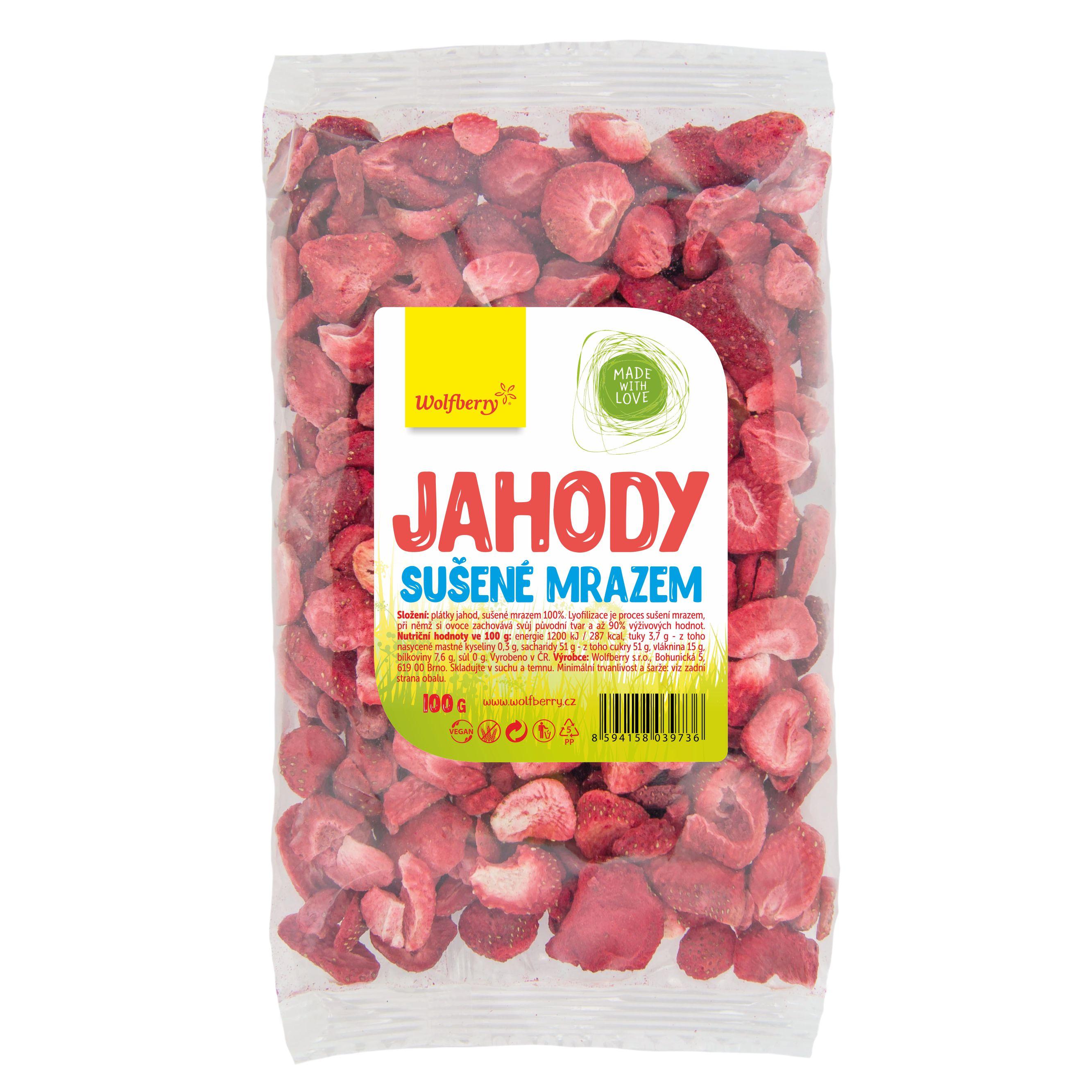 Wolfberry Jahody lyofilizované 100 g Wolfberry 100 g