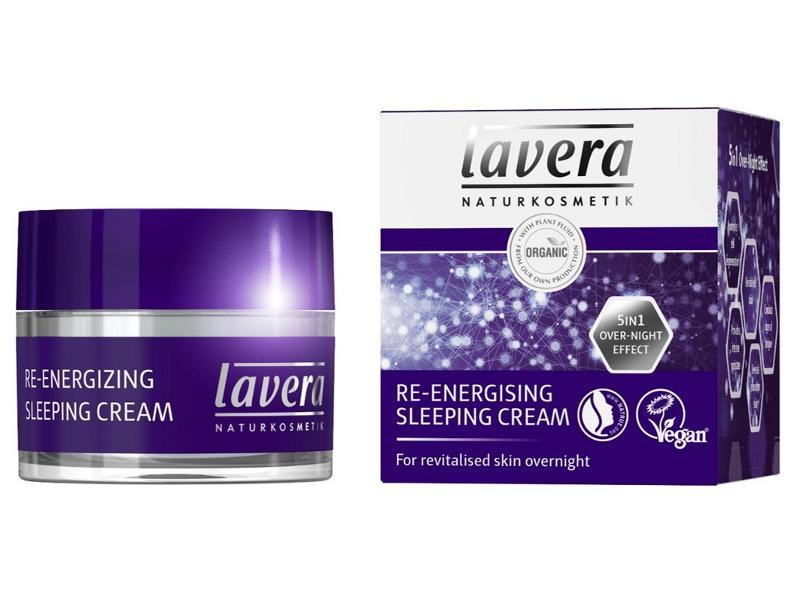 Lavera lavera Energetizující noční krém 50ml 50 ml