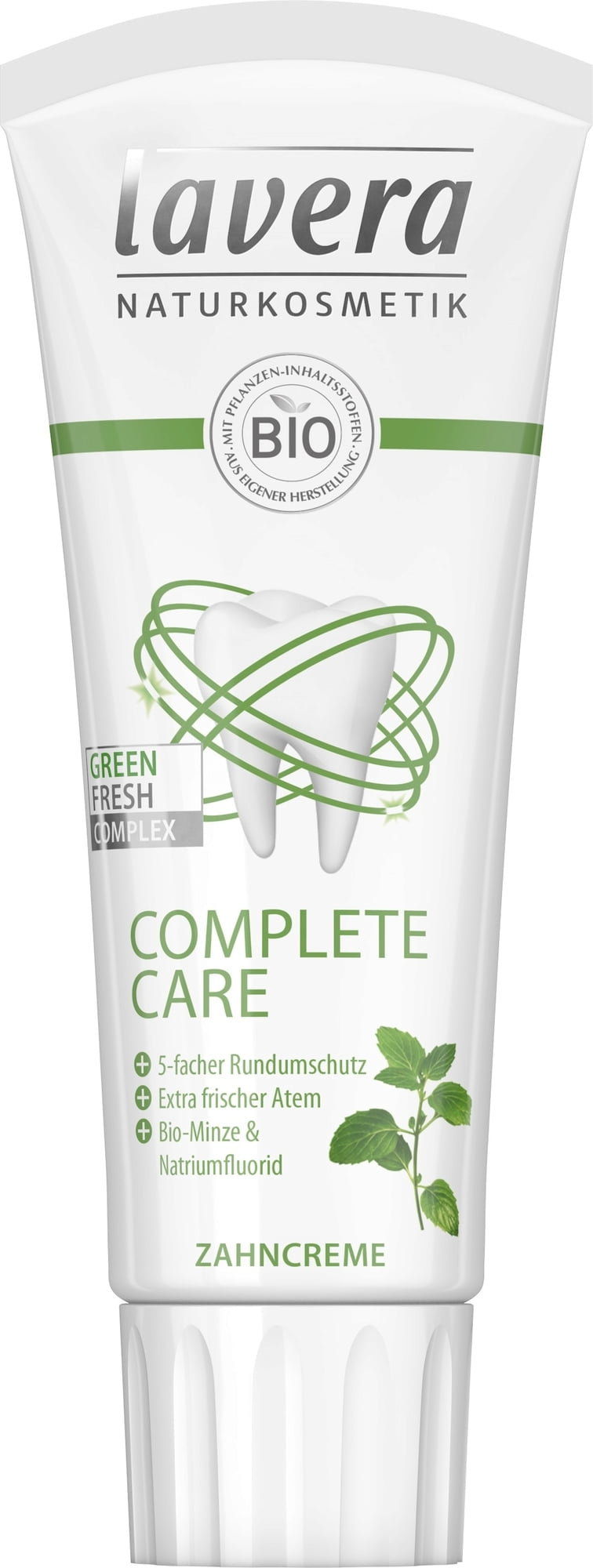 Lavera Zubní pasta mátová Complete Care 75 ml 75 ml