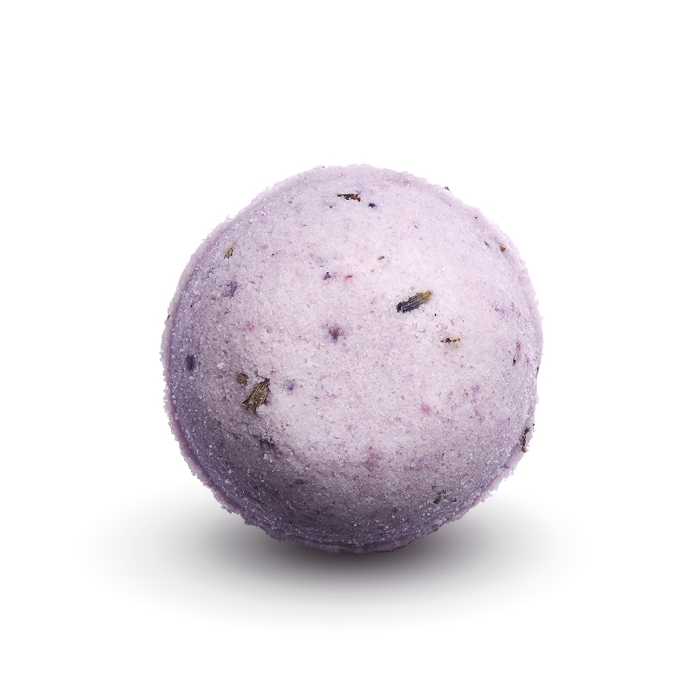 SOAPHORIA Levandulové pole - šumivá bomba do koupele 85 g