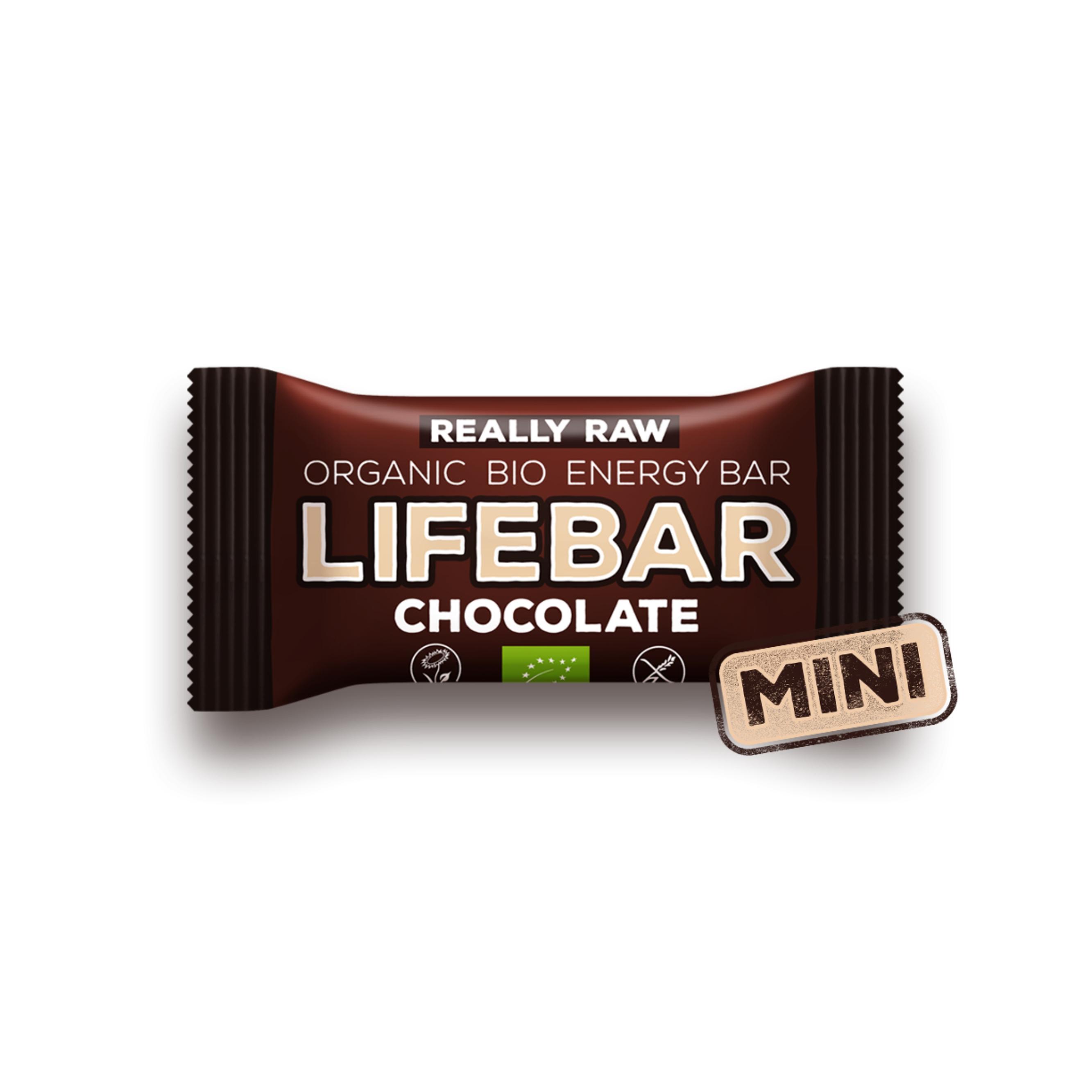 08ce9937b3dd Lifebar čokoládová MINI BIO RAW 25 g Lifefood - BIO a přírodní ...