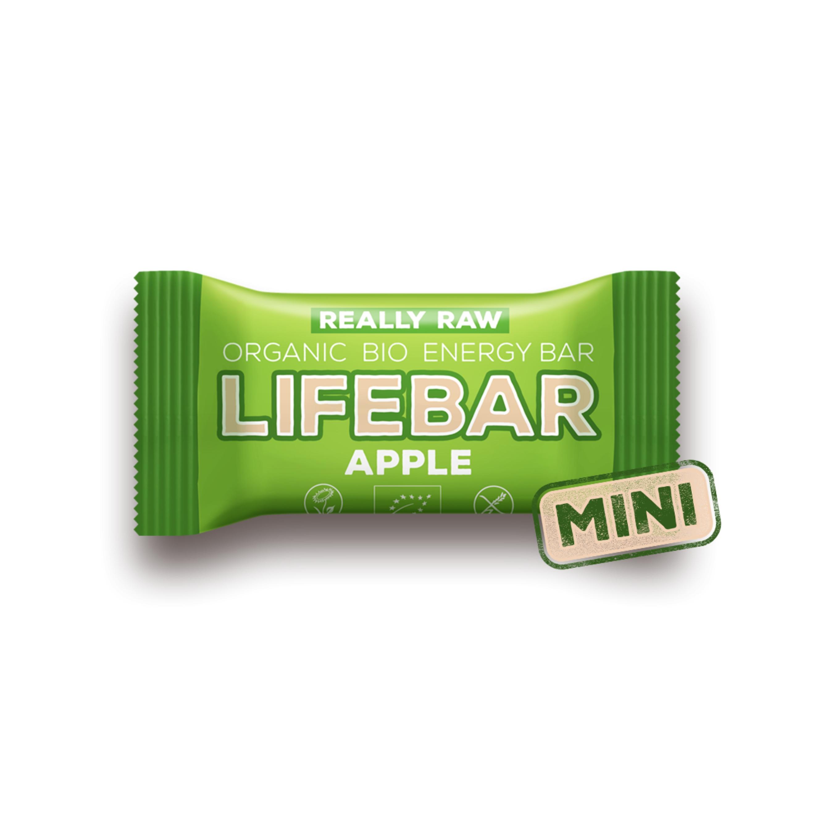 3c78c4ec408a Lifebar jablečná MINI BIO RAW 25 g Lifefood - BIO a přírodní ...
