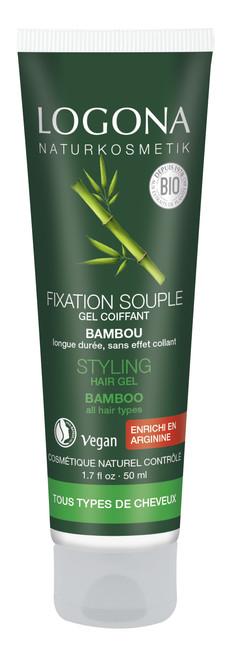 Logona Logona Gel na vlasy-bambus 50 ml