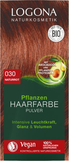 Logona Logona barva na vlasy - Červená - 100g 100g