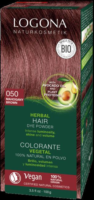 Logona Logona barva na vlasy Mahagon - 100g 100g