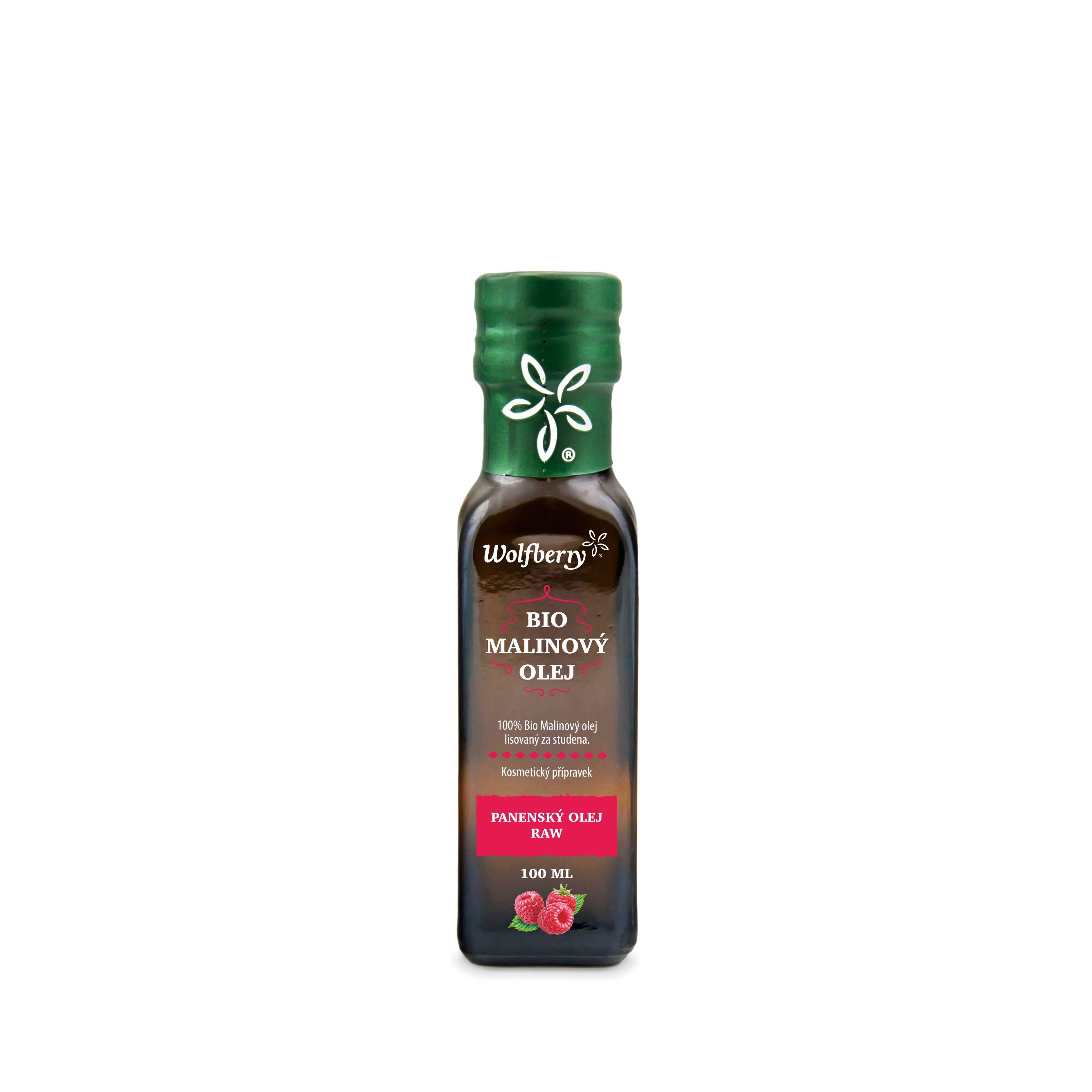 Wolfberry WF Malinový olej BIO 100 ml Wolfberry * 100ml