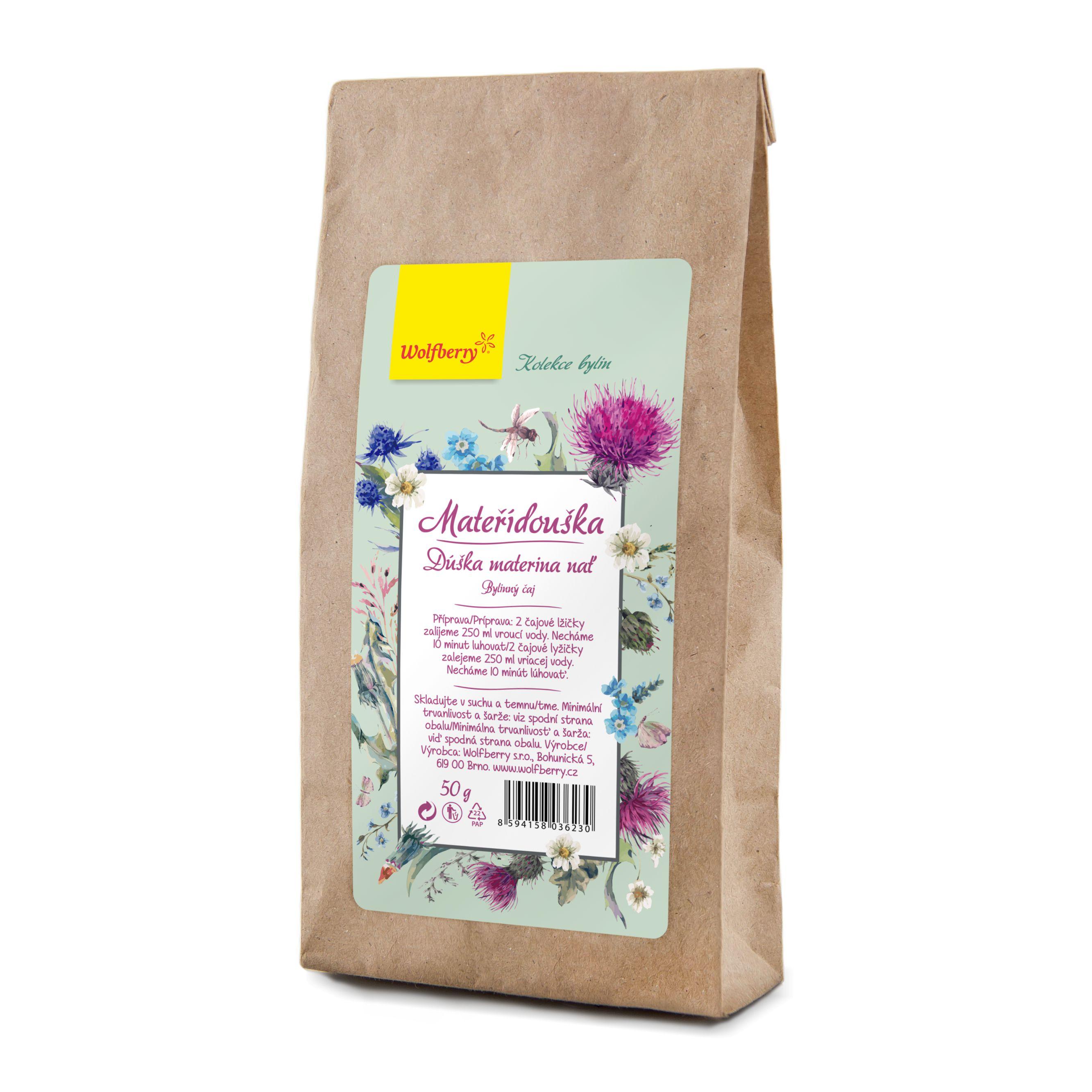 Wolfberry Mateřídouška nať bylinný čaj 50 g Wolfberry 50g