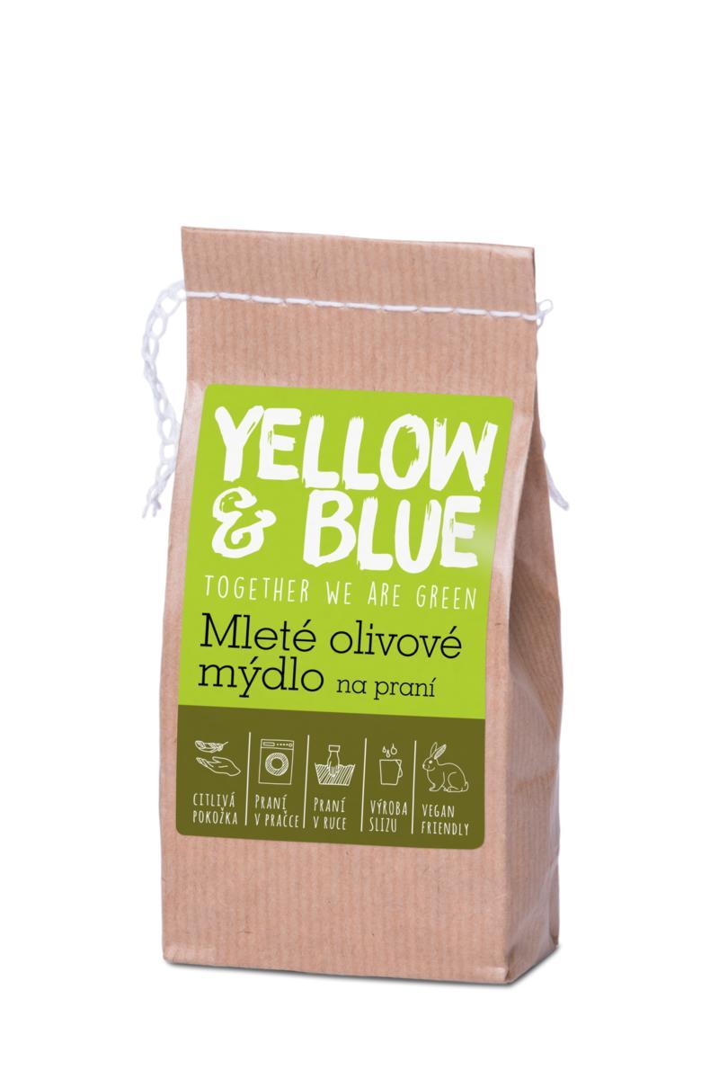 Mleté olivové mýdlo na praní 200 g (zip sáček)