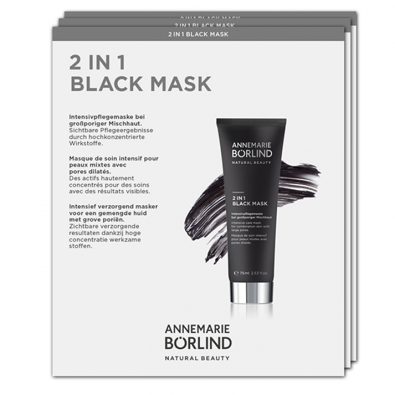 Černá maska 2v1 - VZOREK