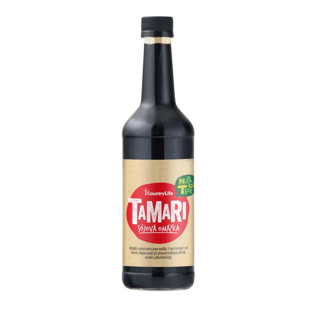 Country Life Tamari sójová omáčka 500 ml 500 ml