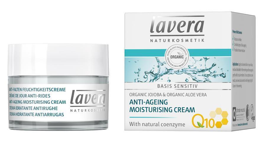 Lavera Basis Sensitiv Hydratační krém Q10 50 ml
