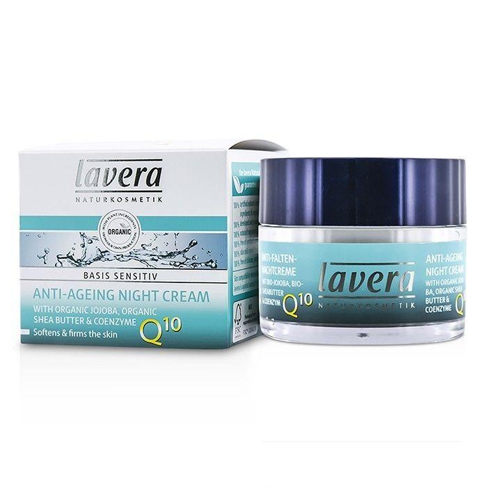 Lavera Basis Sensitiv Noční krém Q10 50 ml