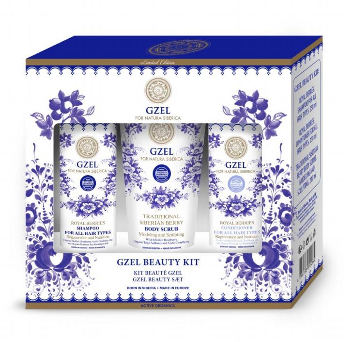 Gzel sada krásy (šampon + balzám + peeling)