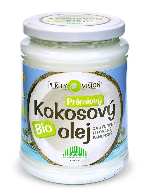 Purity Vision Bio Kokosový olej 600 600 ml