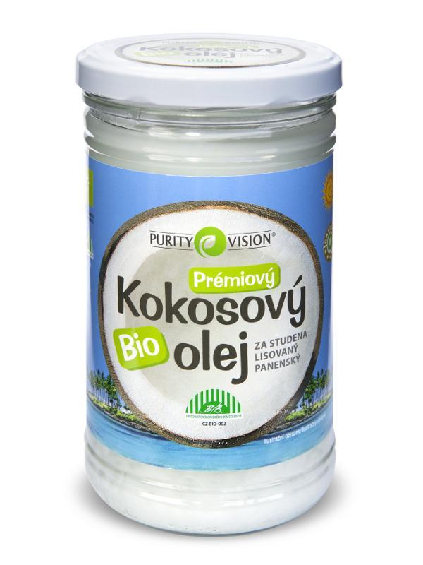 Purity Vision Bio Kokosový olej 900 900 ml