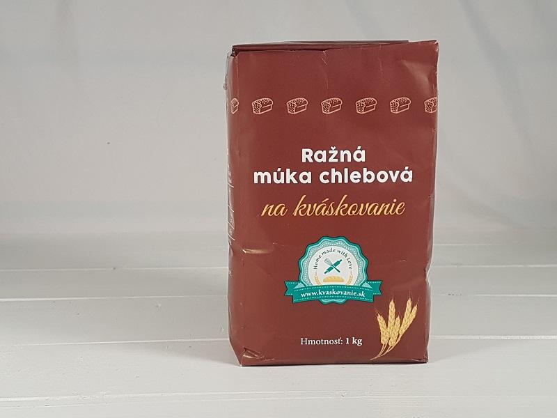 Mlyn Trenčan, spol. s. r. o. Žitná mouka chlebová na kváskovaní 1 kg 1 kg
