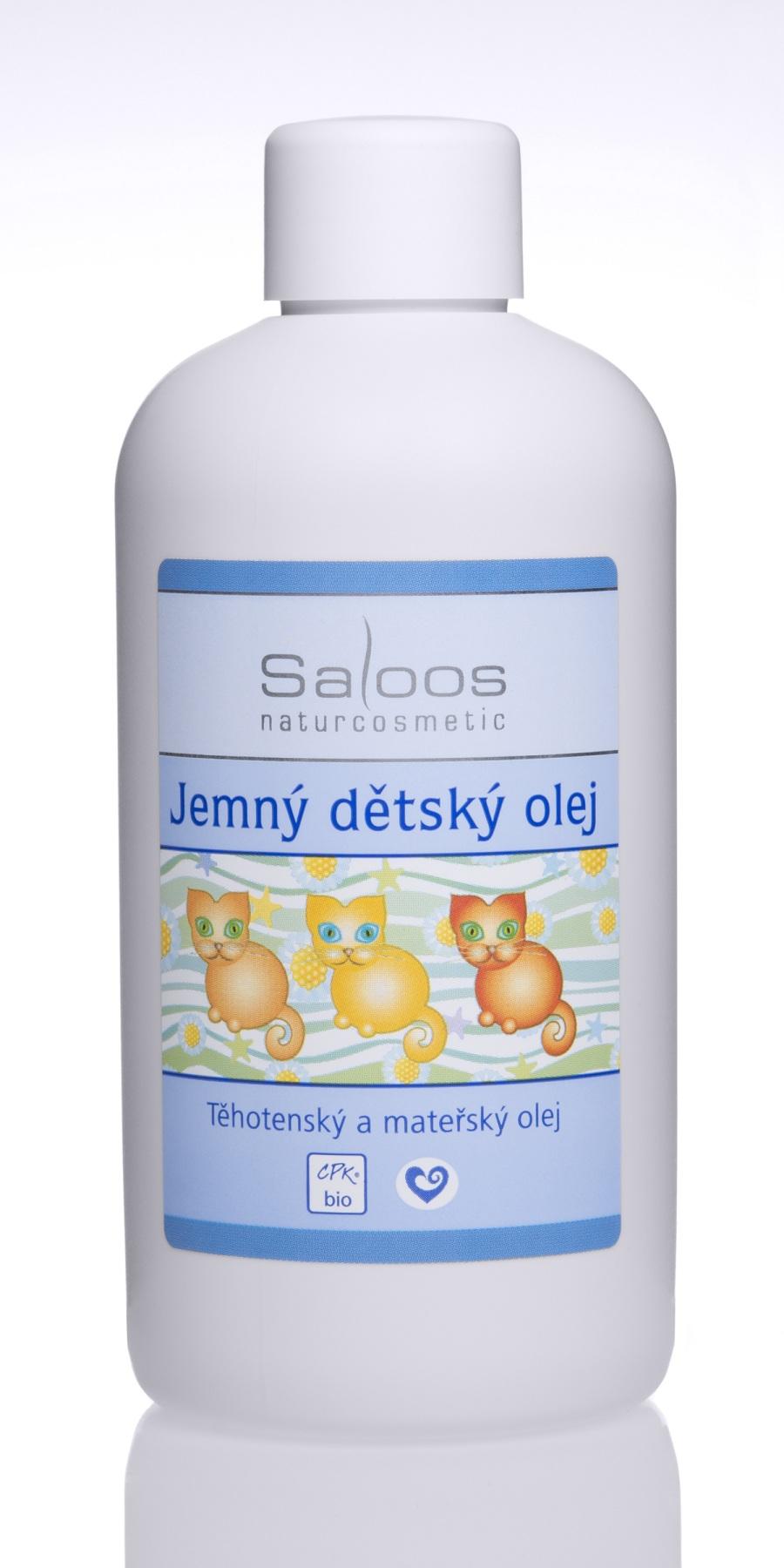 Saloos Jemný dětský olej 250 250 ml