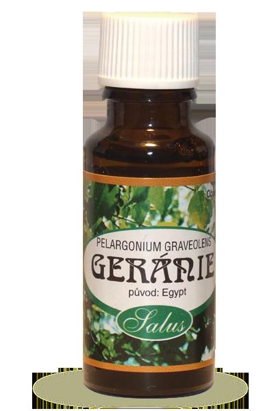 Saloos Éterický olej GERÁNIUM 5 ml 5 ml