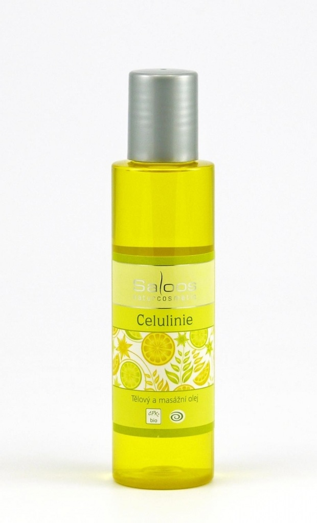 Saloos Celuline - Tělový a masážní olej 125 125 ml