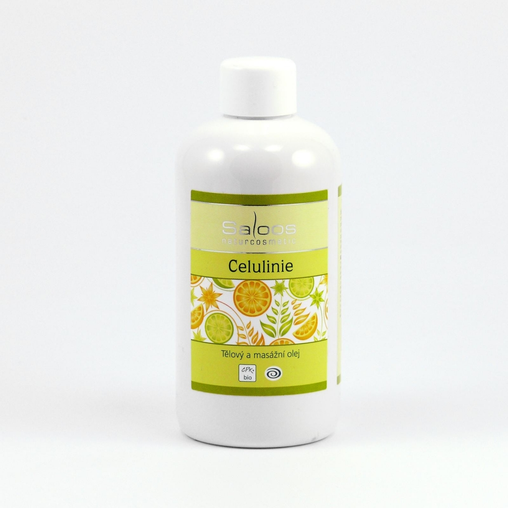 Saloos Celuline- Tělový a masážní olej 250 250 ml