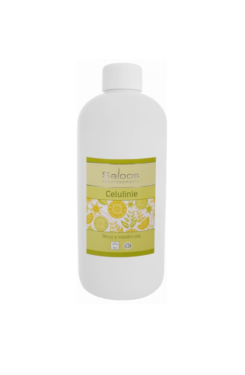 Saloos Celuline - Tělový a masážní olej 500 500 ml
