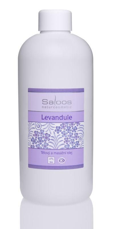 Saloos Levandule - tělový a masážní olej 500 500 ml