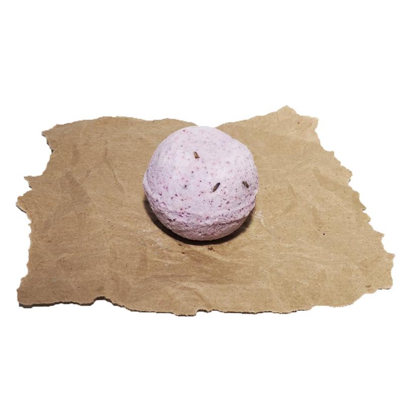 SOAPHORIA Zero Waste - Levandulové pole - šumivá bomba do koupele 85 g