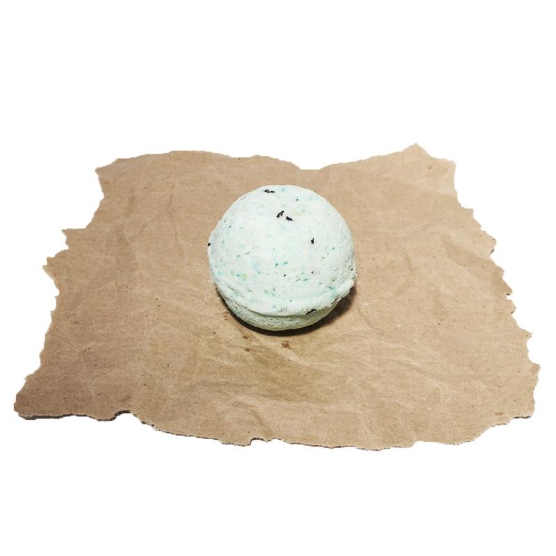 SOAPHORIA Zero Waste - Meduňková limonáda - šumivá bomba do koupele 85 g